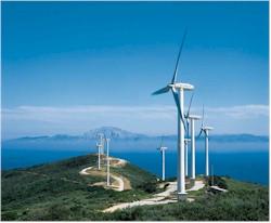 turbines at sea